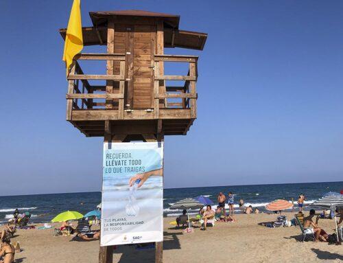 """""""Tus playas, la responsabilidad de todos"""", campaña de concienciación de la SAG para este verano"""